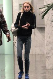 Lily-Rose Depp - Out in Beverly Hills, 02/01/2016