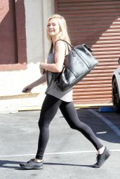 Lindsay Arnold - at DWTS Studio in Hollywood, 2/24/2016
