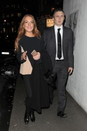 Lindsay Lohan Night Out - London 2/3/2016
