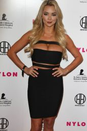 Lindsey Pelas - Muses and Music Party Hosted by NYLON Magazine in Los Angeles 2/9/2016