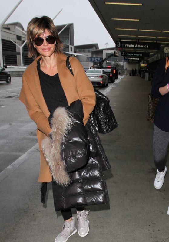 Lisa Rinna at LAX Airport in Los Angeles 2/17/2016