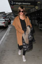 Lisa Rinna at LAX Airport in Los Angeles 2/17/2016