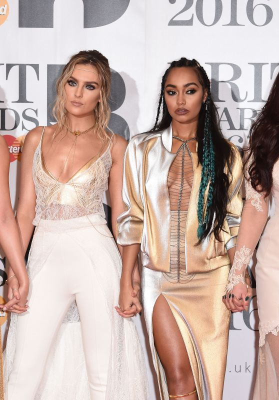 Little Mix - BRIT Awards 2016 in London, UK