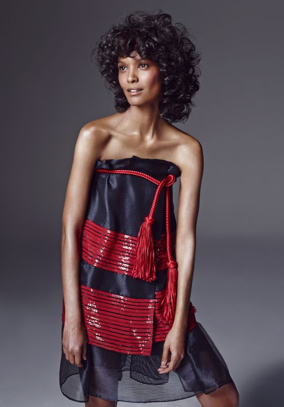 Liya Kebede - Photo Shoot for Madame Figaro 2/26/2016