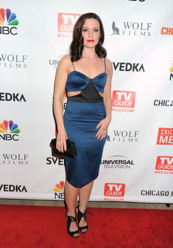 Liza Bennett - TV Guide Magazine Celebrates Dick Wolf