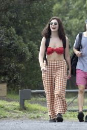 Lorde Bikini Candids - Auckland Beach in New Zealand 2/17/2016