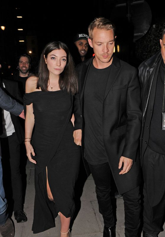 Lorde - BRIT Awards 2016 Afterparty at Tape Nightclub in London, UK