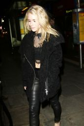 Lottie Moss Night Out Style - Centrepoint Ultimate Pub Quiz in London, February 2016