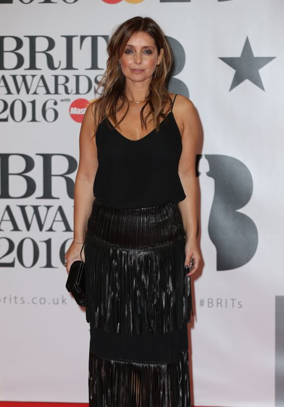 Louise Redknapp – BRIT Awards 2016 in London, UK