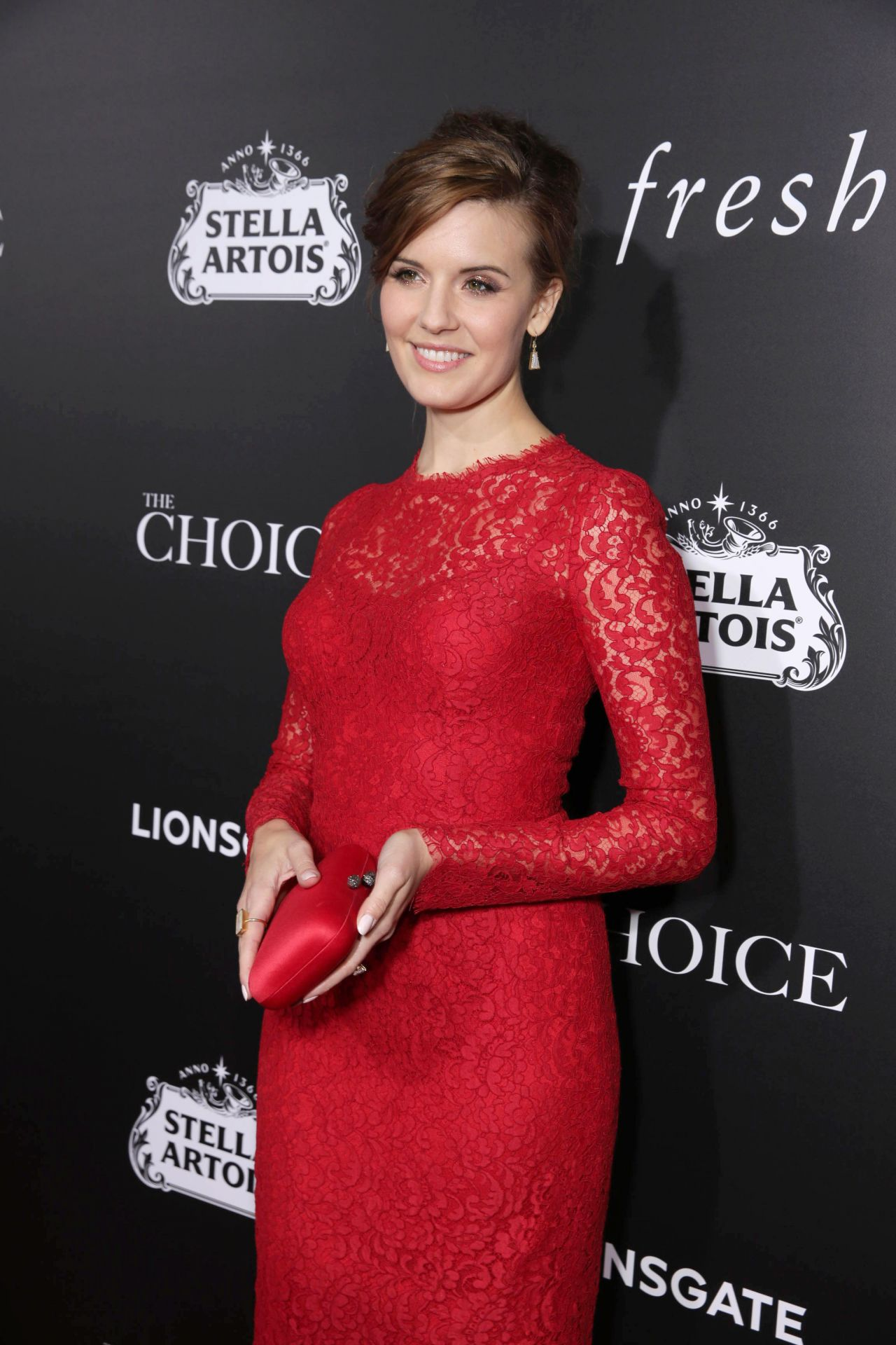 Maggie Grace The Choice Premiere In Hollywood