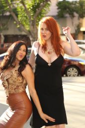 Maitland Ward and Deana Molle - Out in Los Angeles 2/16/2016