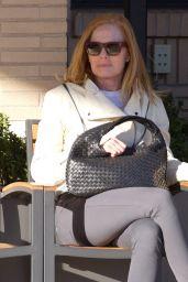 Marg Helgenberger Street Style - at Barneys New York in Beverly Hills 2/3/2016
