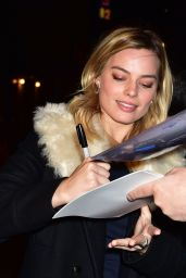 Margot Robbie - Arriving for the Late Night With Stephen Colbert Show, February 2016