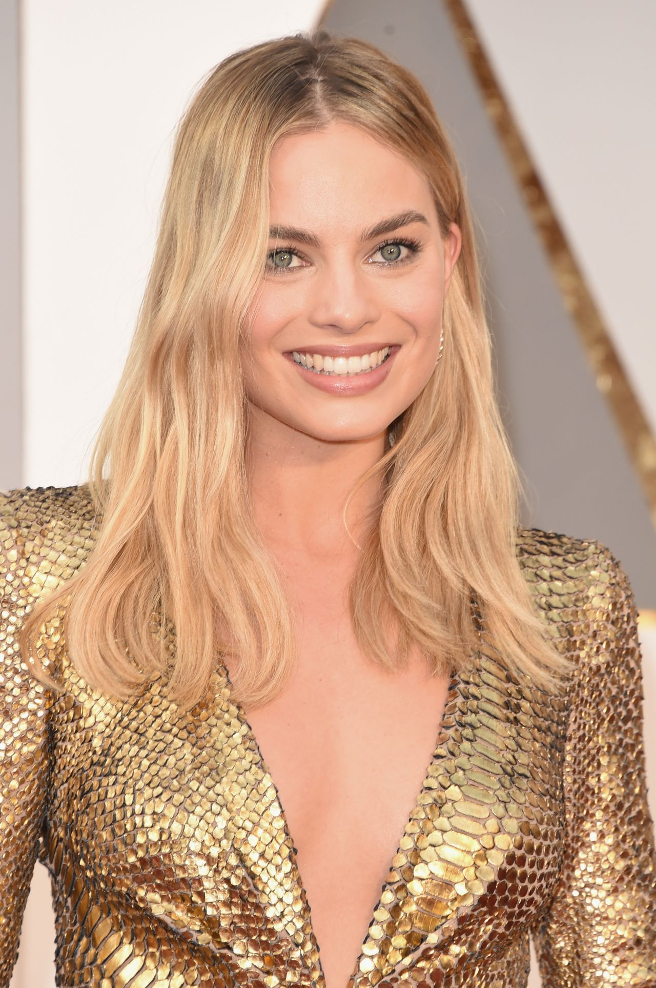 Margot Robbie Oscars 2016 In Hollywood Ca 2 28 2016