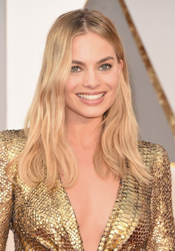 Margot Robbie Oscars 2016 In Hollywood Ca 2 28 2016