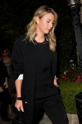 Maria Sharapova - Leaves a Pre Oscar Talent Agency Party 2/26/2016