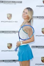 Maria Sharapova - Maria Sharapova & Friends Presented by Porsche in Los Angeles, February 2016