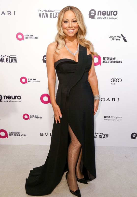 Mariah Carey – 2016 Elton John AIDS Foundation's Oscar Viewing Party in West Hollywood, CA