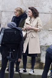 Marion Cotillard - On set of a Photoshoot in Paris 2/22/2016