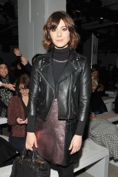 Mary Elizabeth Winstead - Rebecca Minkoff Fall 2016 Presentation - NYFW 2/13/2016