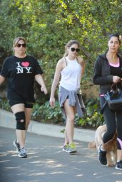 McKaley Miller - Enjoys a Stroll With Her Mother Near Coldwater Park in Los Angeles, February 2016