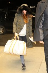 Meagan Fox - Arrives to New York From Los Angeles 2/4/2016