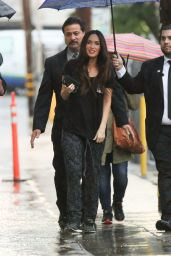 Megan Fox - Arriving at
