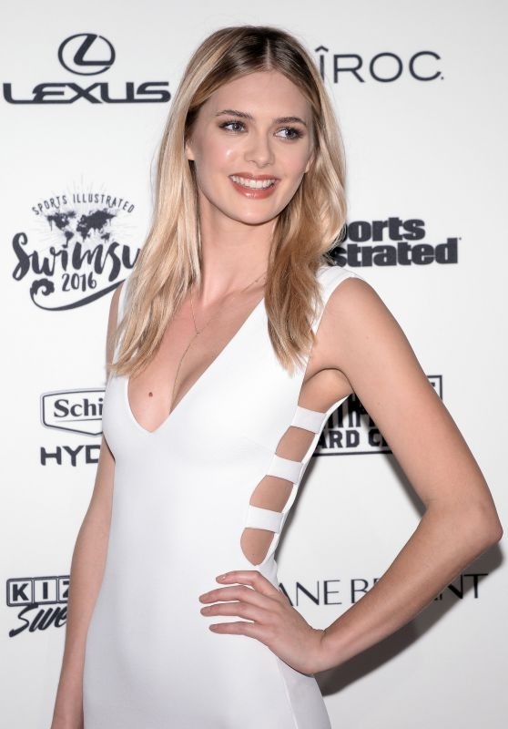 Megan Williams - Sports Illustrated Celebrates Swimsuit 2016 in New York City