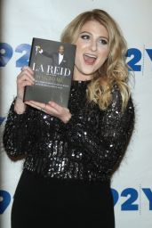 Meghan Trainor - L. A. Reid Conversation With Gayle King in NYC, February 2016
