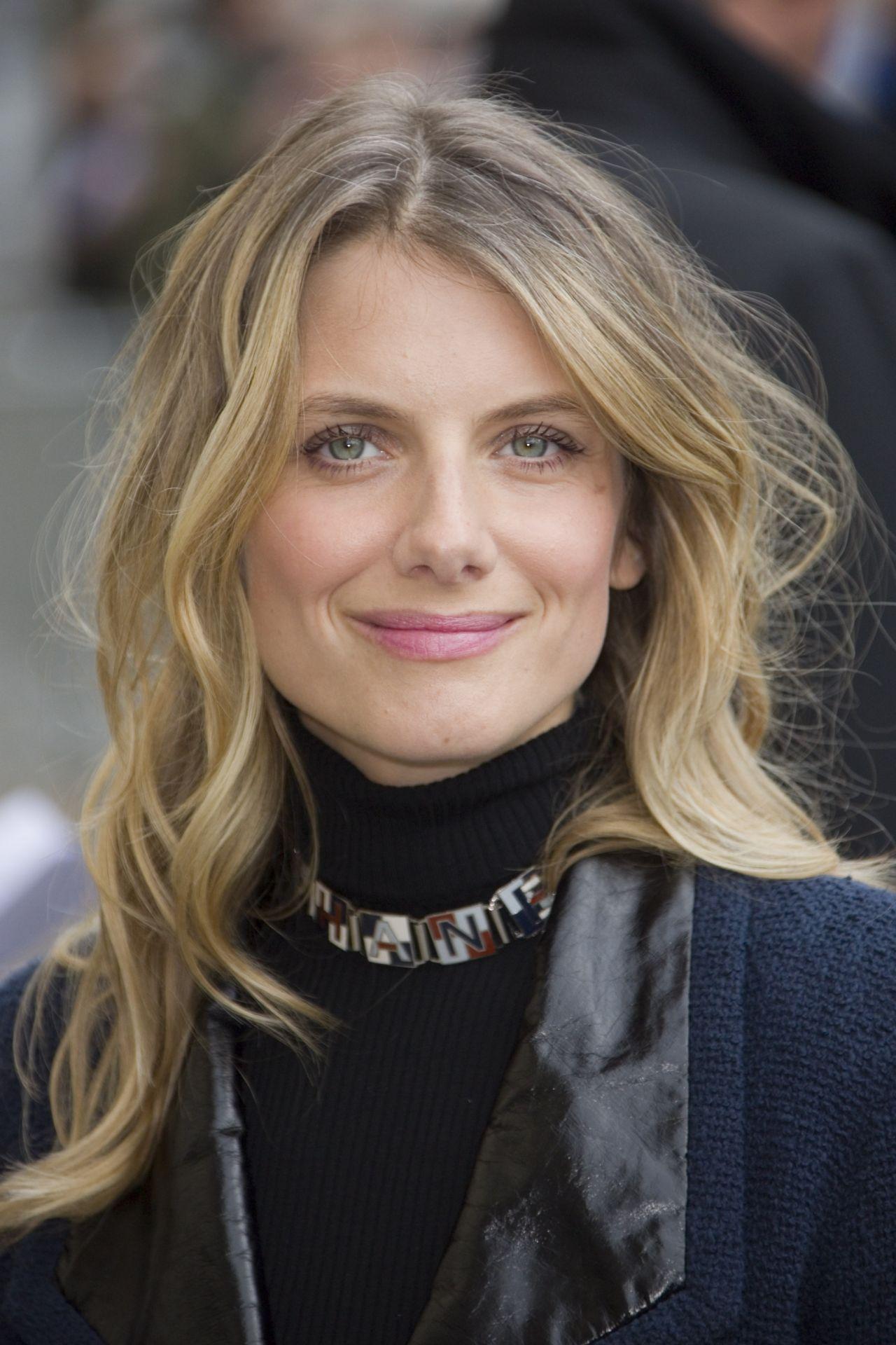 Melanie Laurent Chanel Fashion Show In Paris January 2016