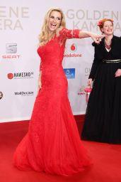 Michelle Hunziker - 2016 Goldene Kamera Award in Hamburg