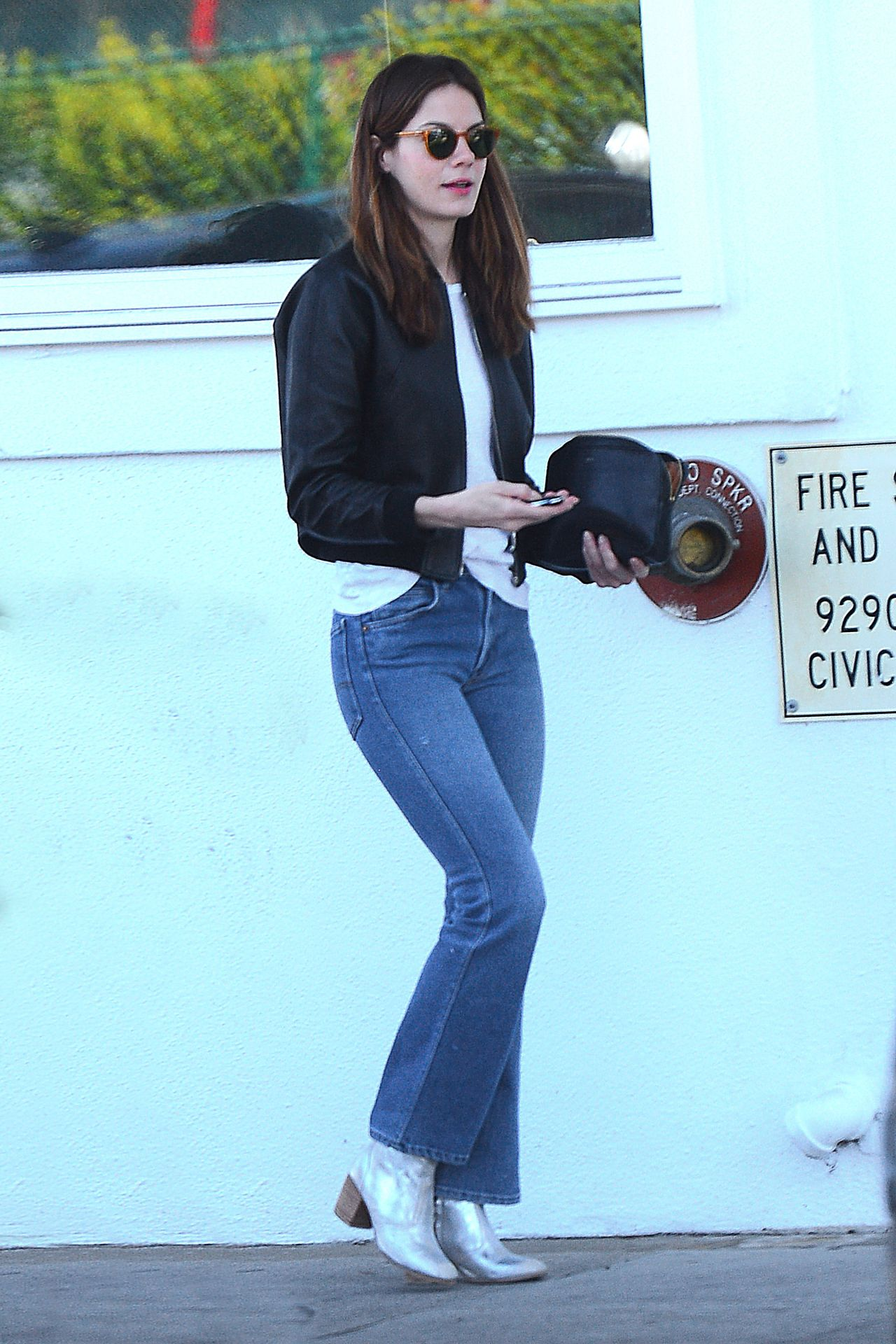 Michelle Monaghan In Jeans Out In La 2 3 2016
