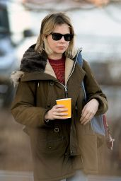 Michelle Williams Street Style - Out in New York City 2/22/16