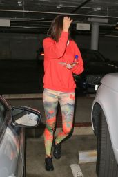 Miranda Kerr - Colorful outfit in Los Angeles 2/8/2016