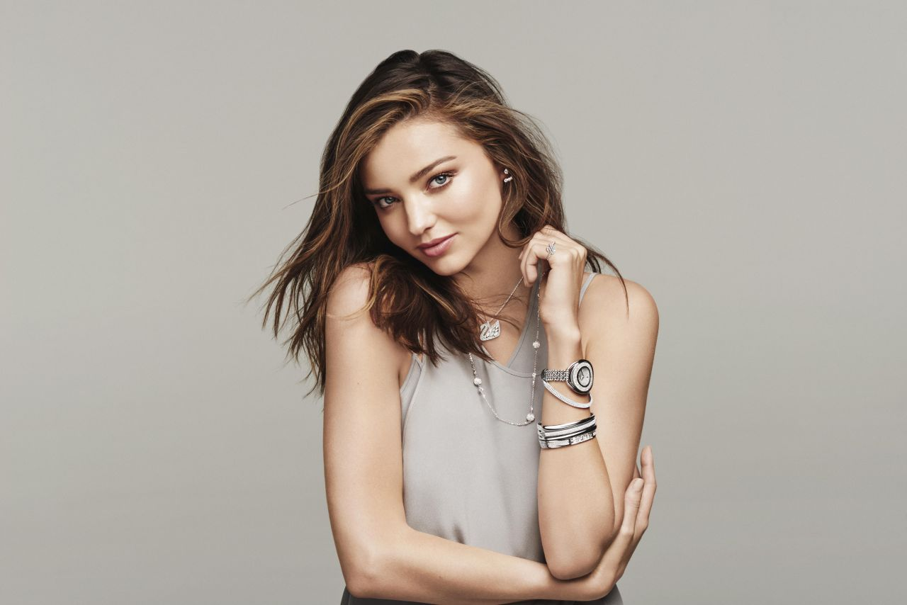 Miranda Kerr - Swarovski 'Swan Lake' Spring/Summer 2016 Collection ... Miranda Kerr