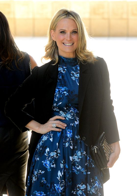 Molly Sims - M.A.C Cosmetics Zac Posen Luncheon, February 2016
