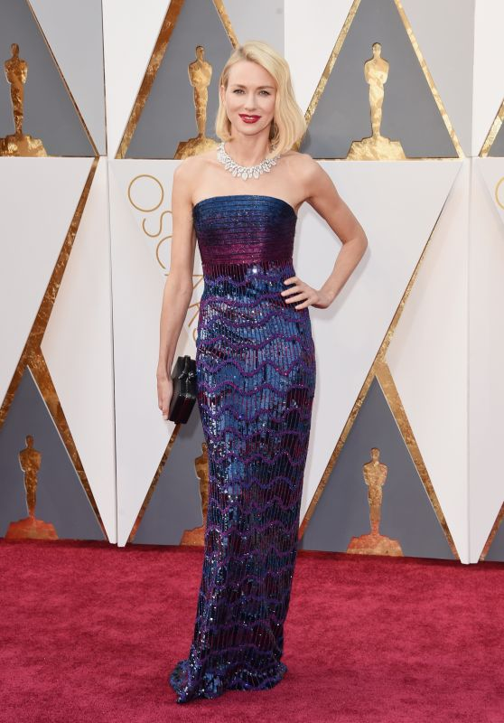 Naomi Watts - Oscars 2016 in Hollywood, CA 2/28/2016