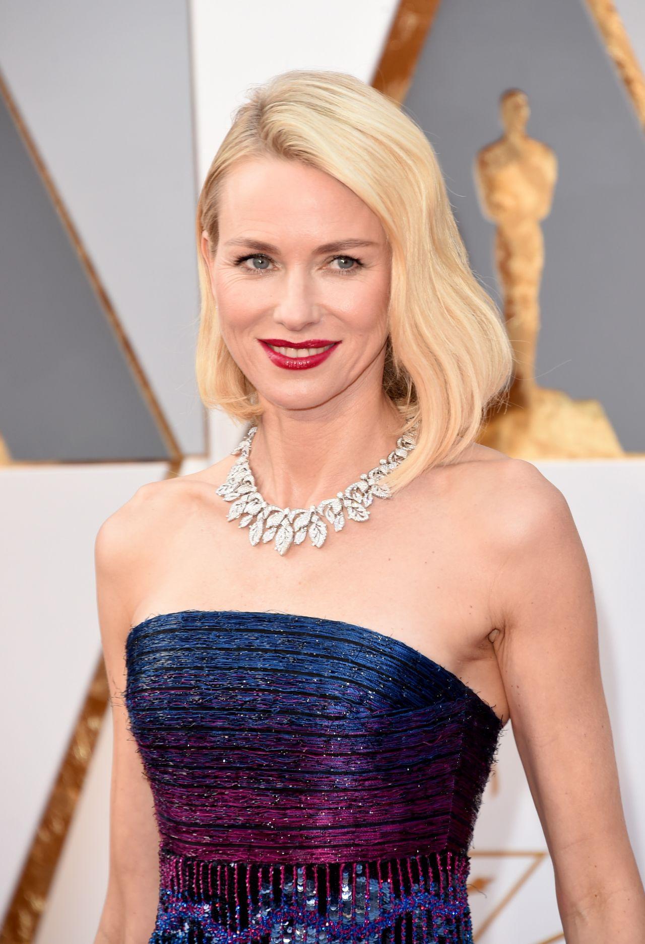 Naomi Watts - Oscars 2016 in Hollywood, CA 2/28/2016 Naomi Watts