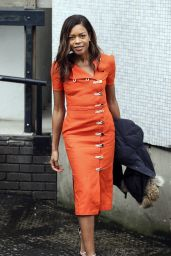 Naomie Harris Style - iTV Studios in London 2/22/2016