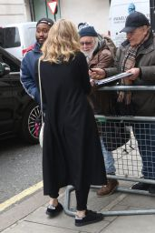 Natalie Dormer Style - BBC Radio Two in London, UK 2/17/2016
