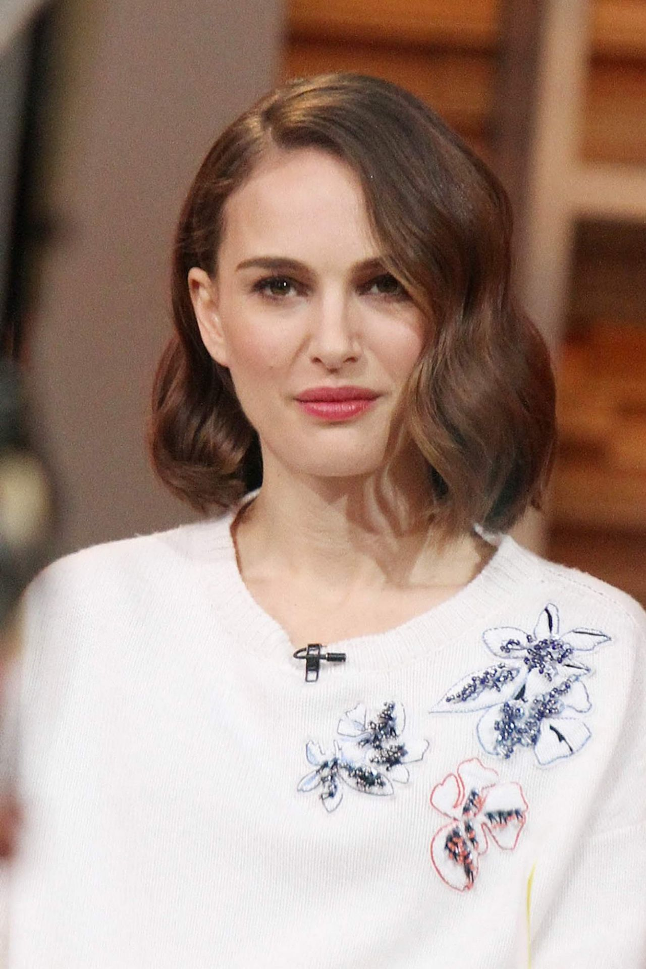 Natalie Portman Appeared On Good Morning America January 2016