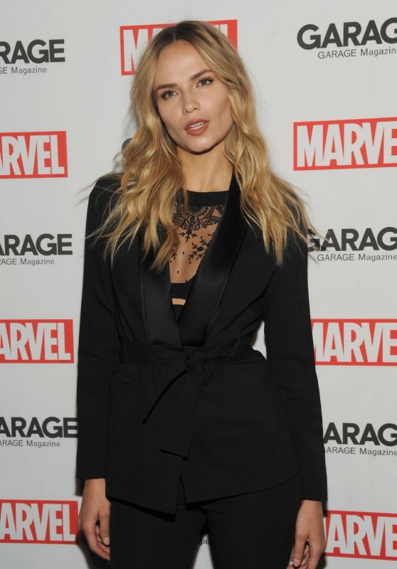 Natasha Poly - Marvel & Garage Magazine Party in New York City, NY February 2016