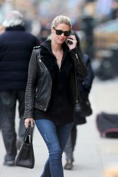 Nicky Hilton in Tight Jeans - Chatting on Her Phone While Out in New York, February 2016