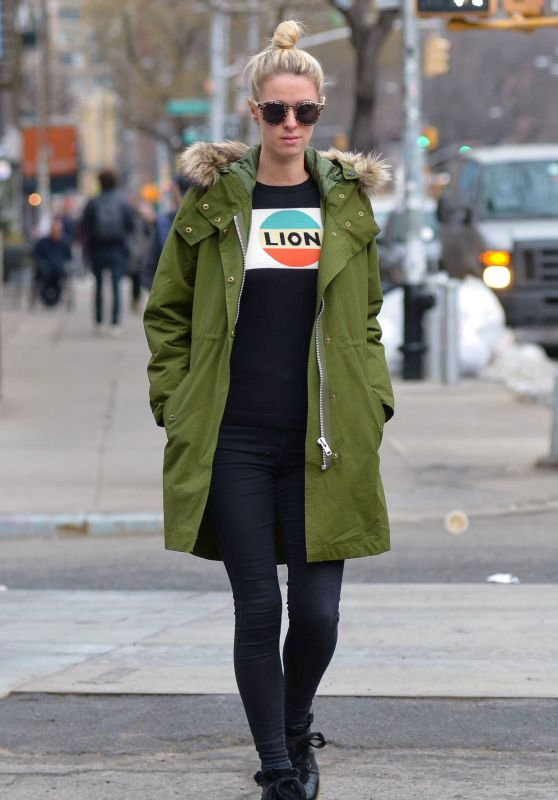 Nicky Hilton Street Style - Out in LA 2/2/2016