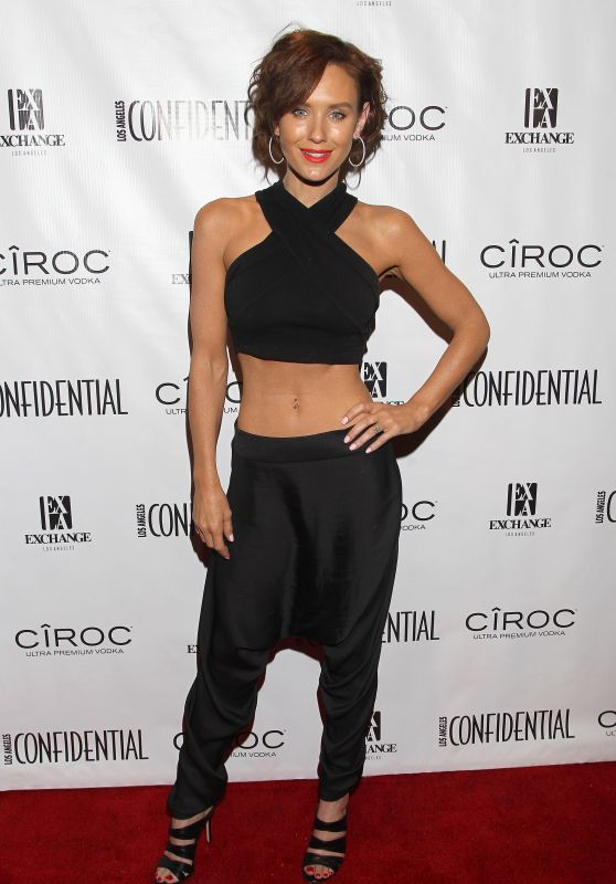 Nicky Whelan - Los Angeles Confidential Celebrates GRAMMY 2016 Issue in LA