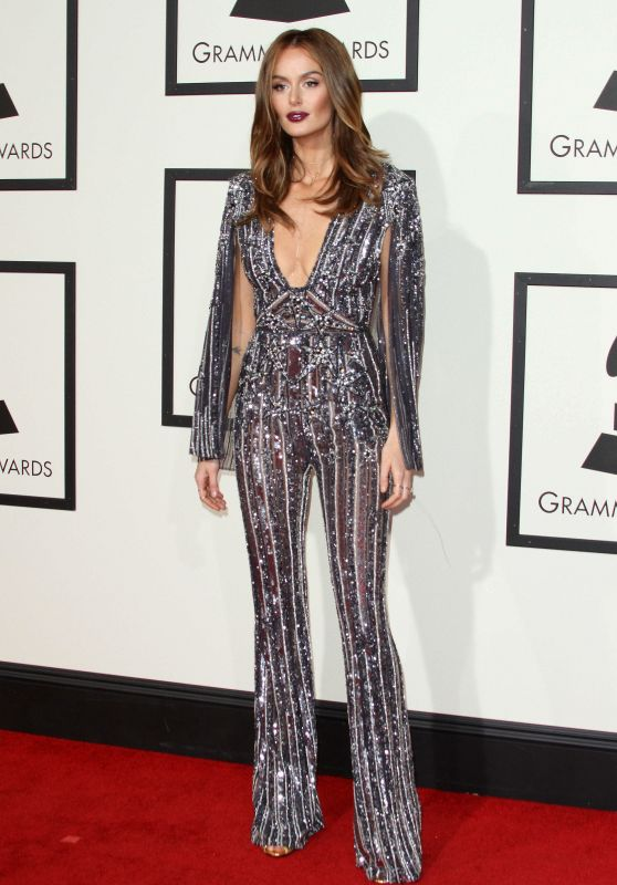Nicole Trunfio – 2016 Grammy Awards in Los Angeles, CA
