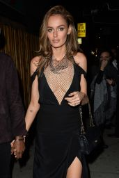 Nicole Trunfio Night Out Style - Leaves a Club in West Hollywood, February 2016