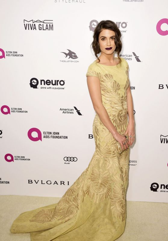 Nikki Reed – 2016 Elton John AIDS Foundation's Oscar Viewing Party in West Hollywood, CA