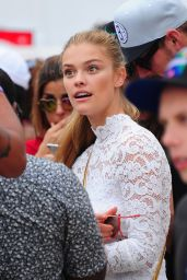 Nina Agdal on the Beach in Miami, FL 2/20/2016