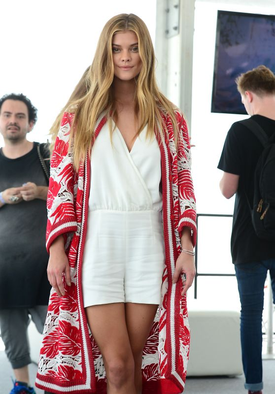 Nina Agdal – Sports Illustrated Swimsuit 2016 Event in Miami, FL 2/18/2016
